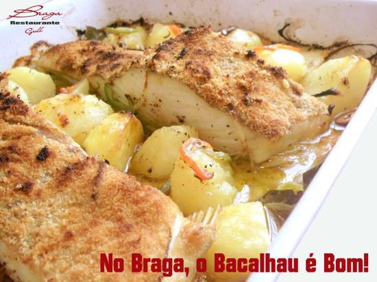 Restaurante Braga: Bom Bacalhau é no Braga.
