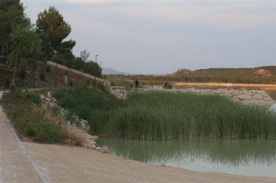Ejea de los Caballeros, Spain: Ciudad del Agua, Estanca del Gancho