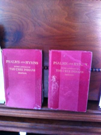 Stanley Mission, Canadá: early prayer books