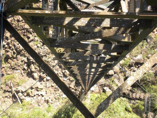 Abseiling in the Iguacu Canyon: Vista da queda