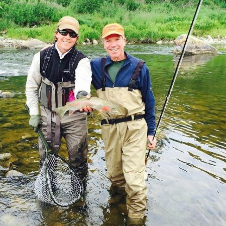 Winterlake Lodge: beautiful Rainbow Trout