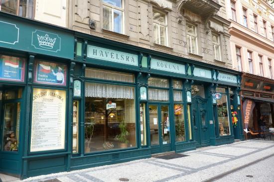 Restaurant Havelska Koruna: Wejście do restauracji
