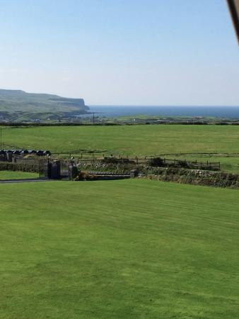 Aran View Country House: View from room 233 at Aran View Hotel, looks out to the Cliffs and Aran Islands