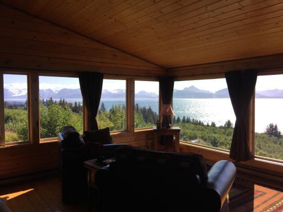 Alaska Adventure Cabins: What a view!