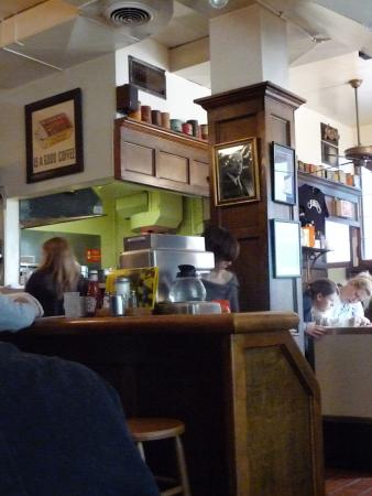 Jake's Restaurant: Interior of Jakes