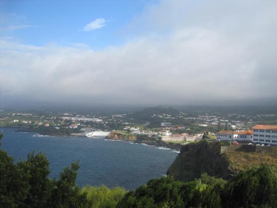 Monte Brasil: Вид с горы Монте Бразил