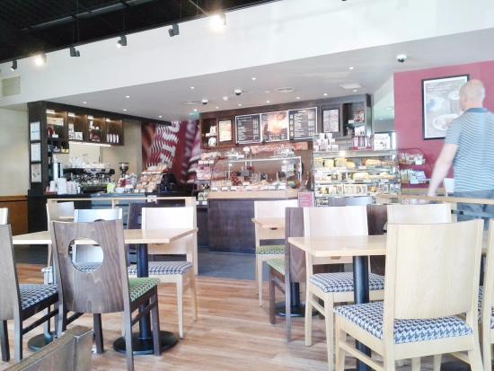 Inside Costa Coffee Port Glasgow Picture Of Costa Port