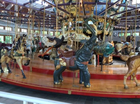 ‪Coolidge Park Antique Carousel‬