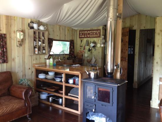 Berridon Farm: Our wonderful tent