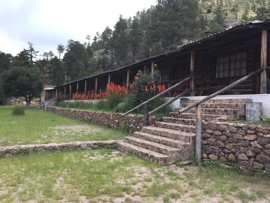 Copper Canyon Sierra Lodge : Un lugar increíble! Sin duda alguna de los mejores para descansar y dejar atrás la ciudad