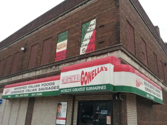 The Hood Is Not That Appealing But The Subs Make Up For That Picture Of Gonellas Foods Detroit Tripadvisor