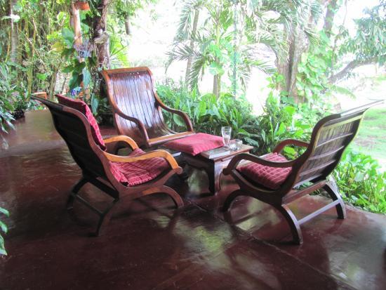 Hotel Amor de Mar: Our private patio