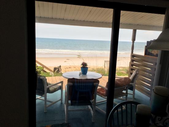 Suites on the Beach: Rooms have been newly decorated and are great!  Very coastal... Great Patio's right on Beach!