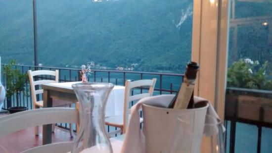 Gandria, Switzerland: Restaurant Terasse