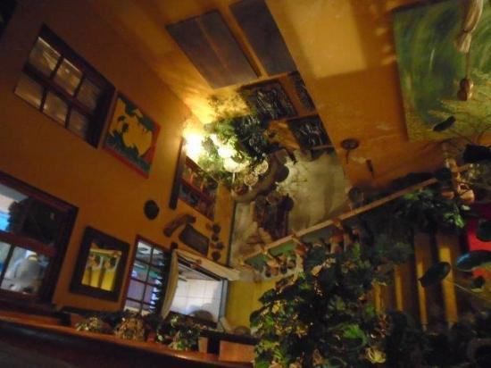 Octava de Corpus: Stairs to the wine cellar