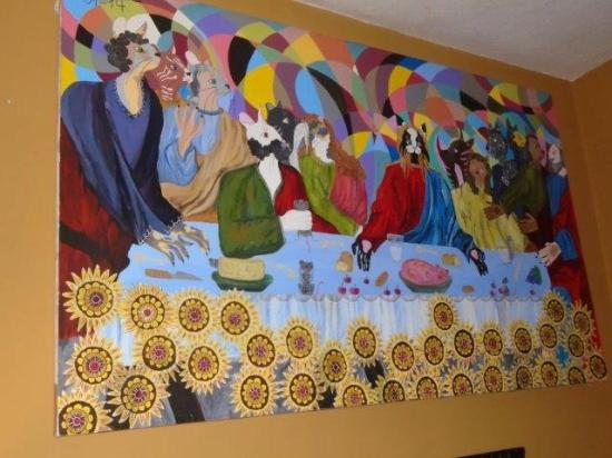 Octava de Corpus: The last supper - alternative