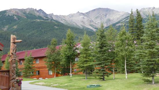 Denali Princess Wilderness Lodge: Denali Lodge scenery