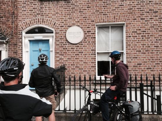 Dublin City Bike Tours: George Bernard shaw's birthplace