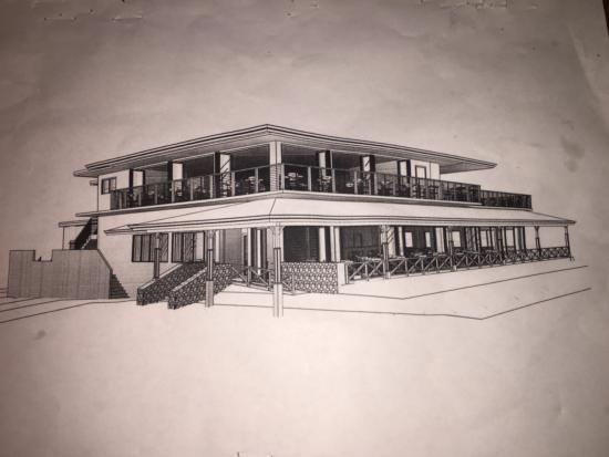 Jameson's By The Sea: Rendering of new Restaurant to open December 2015