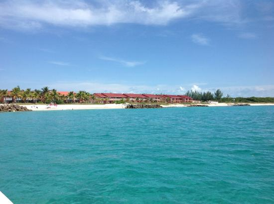 Bimini Sands Resort and Marina: View from the ocean