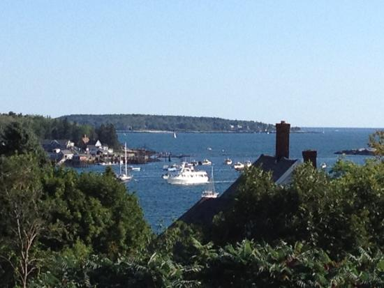 Topside Inn: View from our balcony