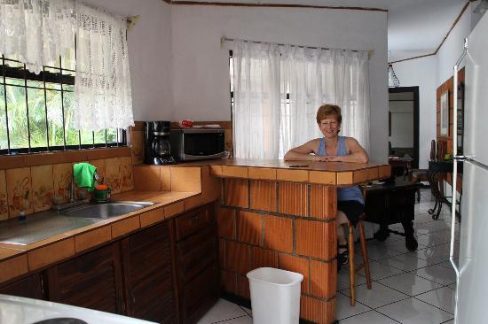 Hotel Villas Colibri: Vu de la cuisine (Villa 14)