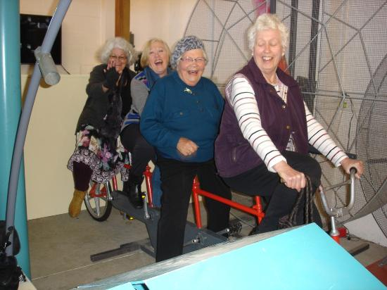 Faraday Centre: A bicycle built for 4