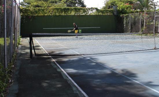 Hotel Villas Colibri: Le tennis