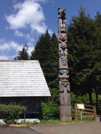 Tongass Historical Museum: 入り口
