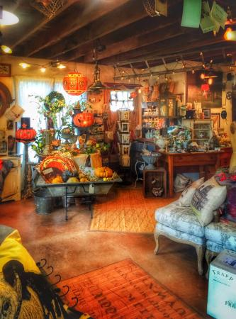 Hobart, NY: Whimsical items artfully displayed