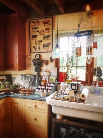 Hobart, NY: Kitchen display