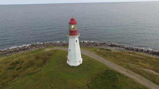 Low Point Lighthouse (drone photo)