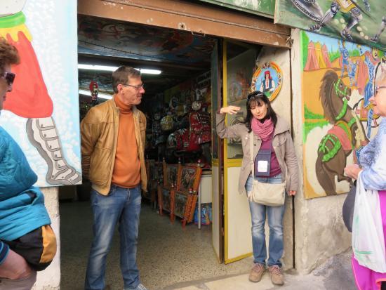 Jackie And Franco Bertolino Artist  Picture Of Palermo Tour Guide Jacqueli
