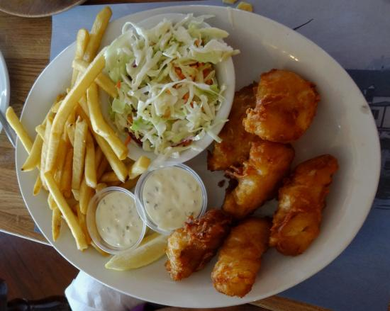 Great Fish & Chips - Picture of Chart Room Restaurant, Crescent City ...