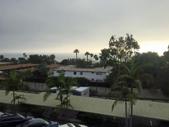 Best Western Premier Hotel Del Mar: View of ocean from our room