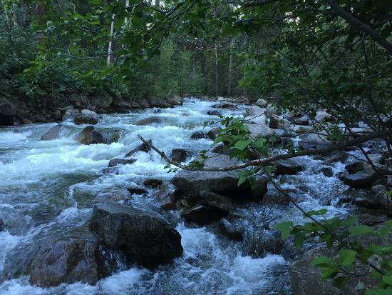 Difficult Campground: Roaring Fork River - Not at Campsite