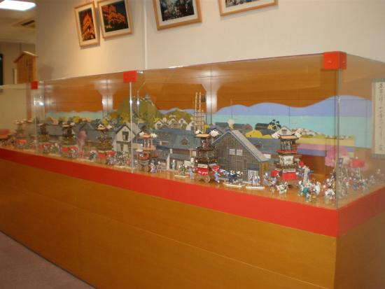 Festival Museum Dondenkan: 祭りのミニチュア展示