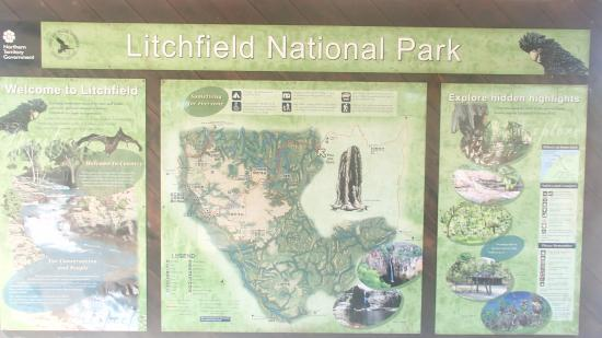 Just one of the highlights of the Litchfield National Park