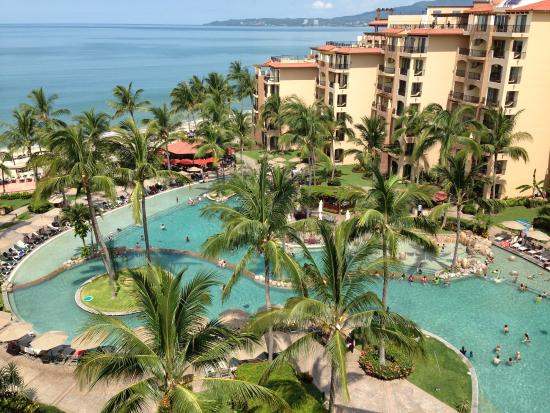 Villa Del Palmar Flamingos Beach Resort Spa Riviera Nayarit Our View From 8th Floor