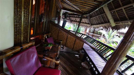 Balcony Of The Villa Room Picture Of Nigi Nigi Nu Noos E Nu Nu Noos Boracay Tripadvisor