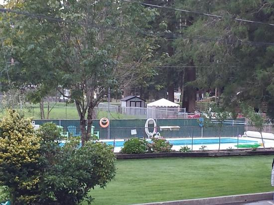 Holiday Motel & RV Resort: Out door pool