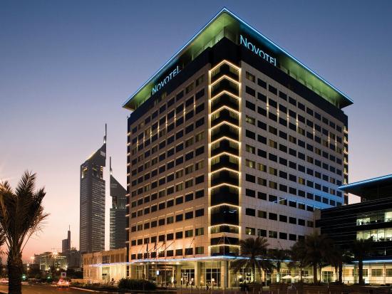 Novotel World Trade Centre Dubai: Novotel World Trade Centre Exterior