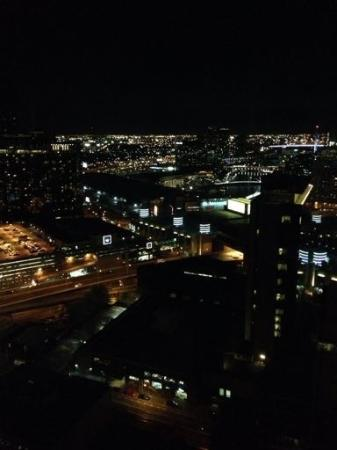 Melbourne Short Stay Apartments at SouthbankOne: View from our window