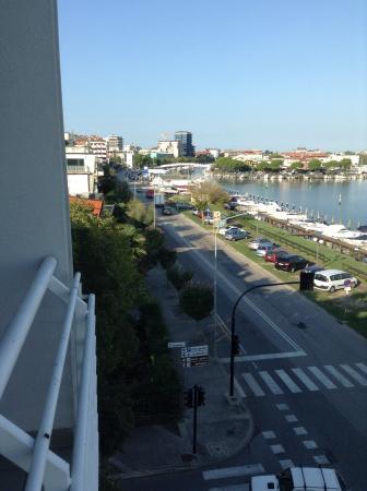 Hotel Capri: Fra altanen på 3 sal