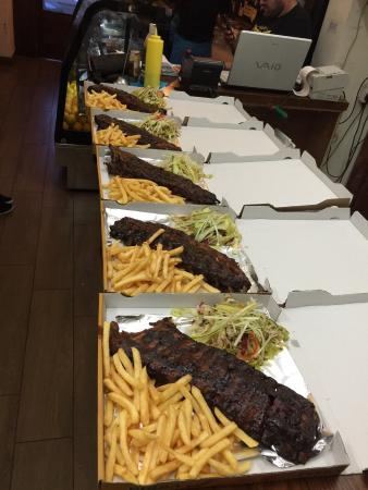 Swieqi, มอลตา: BBQ ribs - delivery service