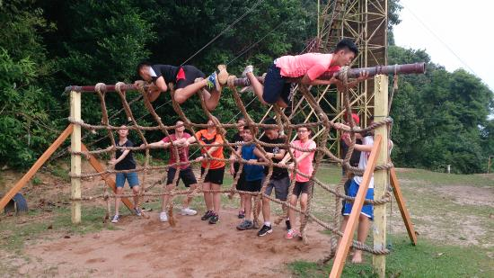 Part Of The 22 Elements Obstacle Challenge Picture Of Eagle Ranch