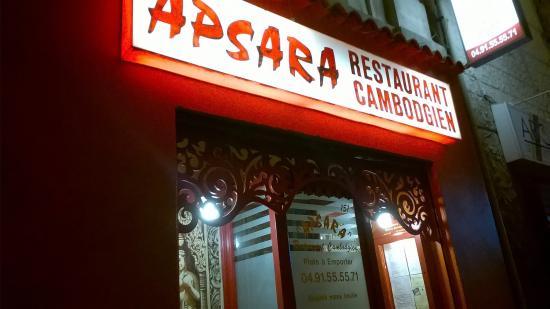 Apsara Restaurant Cambodgien Marseille