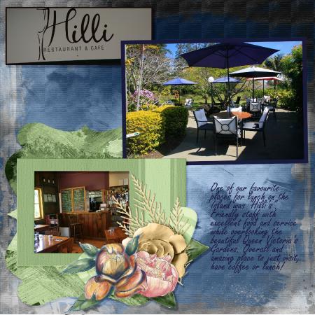 Hilli\'s Cafe and Restaurant overlooking Queen Victoria Gardens ...