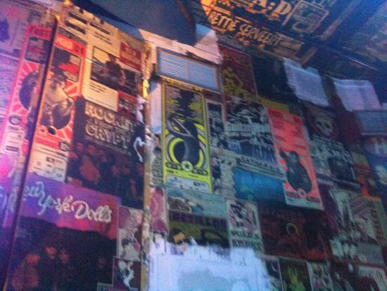 La Via Lactea The Woodstock Bar: More posters