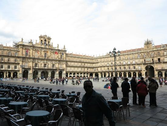 プラサマジョール - Picture of Salamancas Plaza Mayor, Salamanca ...
